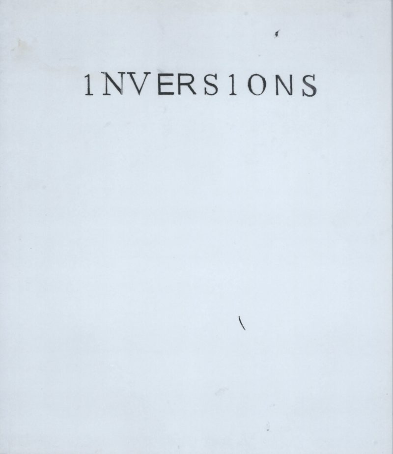 Image of 1NVERS1ONS