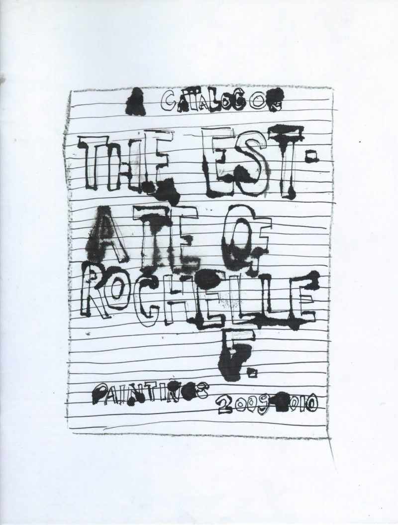 Image of A Catalog of The Estate of Rochelle F.