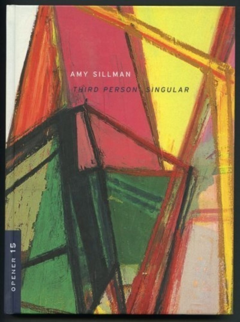Book cover showing an abstract artwork by Amy Sillman