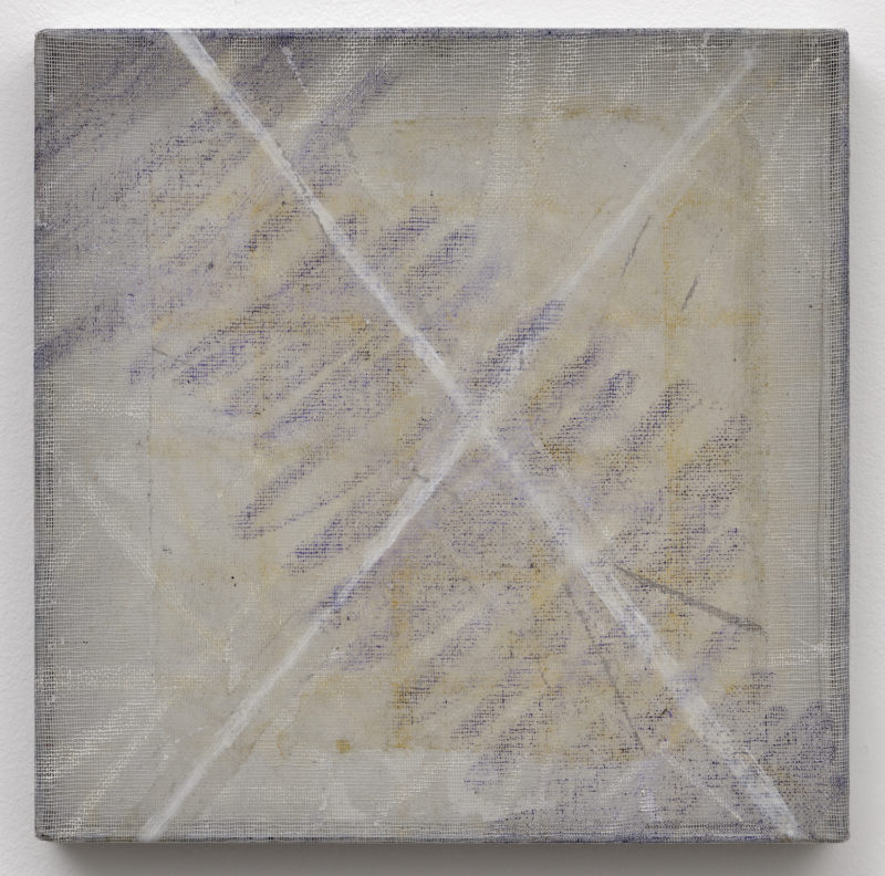 Abstract painting by Christian Bonnefoi Janapa 1978