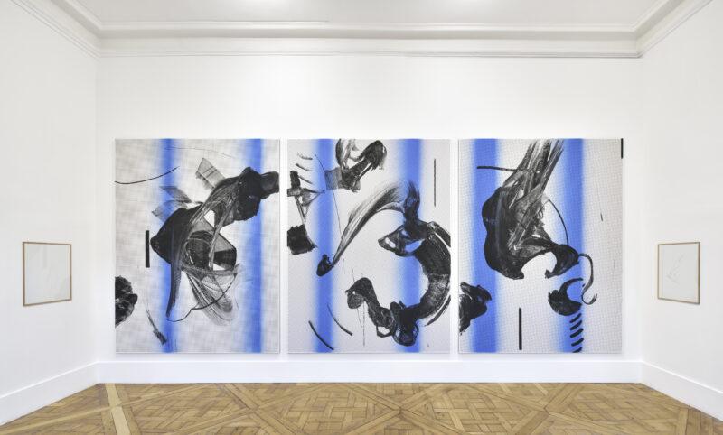 Cheyney Thompson, L'écorché, exhibition view at Campoli Presti Paris