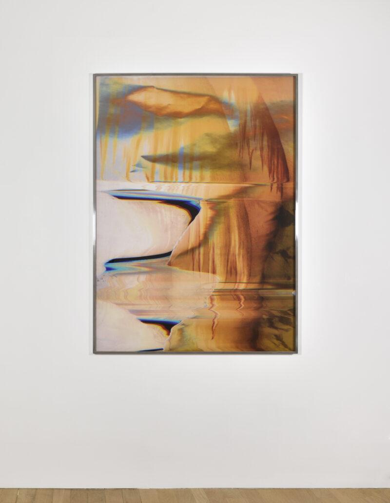 Print on dibond by artist Eileen Quinlan exhibited at Campoli Presti Paris