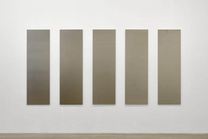Abstract photogram by Liz Deschenes exhibited at Campoli Presti2018