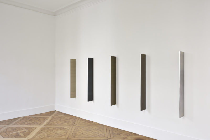 Abstract photogram installation at Campoli Presti Paris 2018