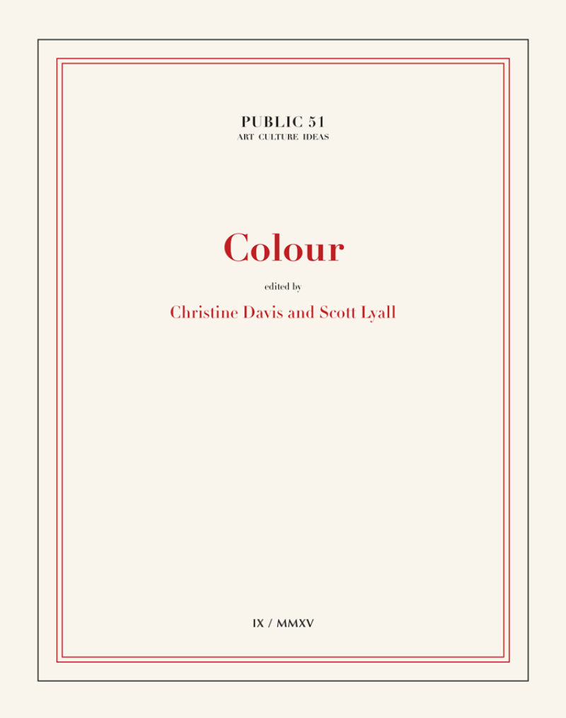 Image of Colour, edited by Christin Davis and Scott Lyall