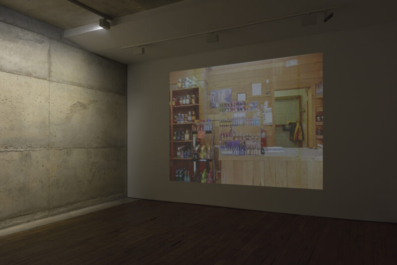 A video by artist Kevin Jerome Everson exhibited at Campoli Presti Paris