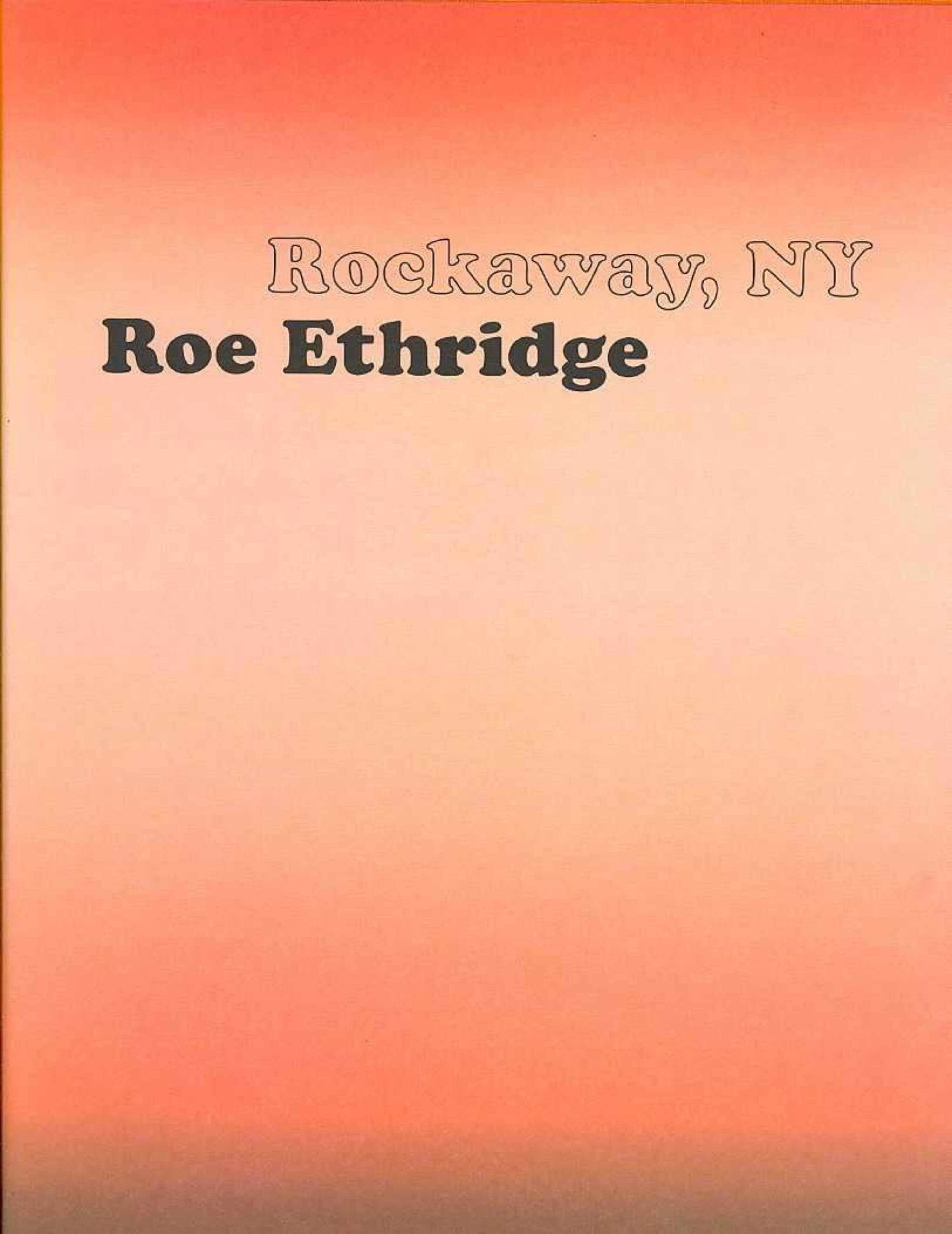 Image of the front cover of Rockaway