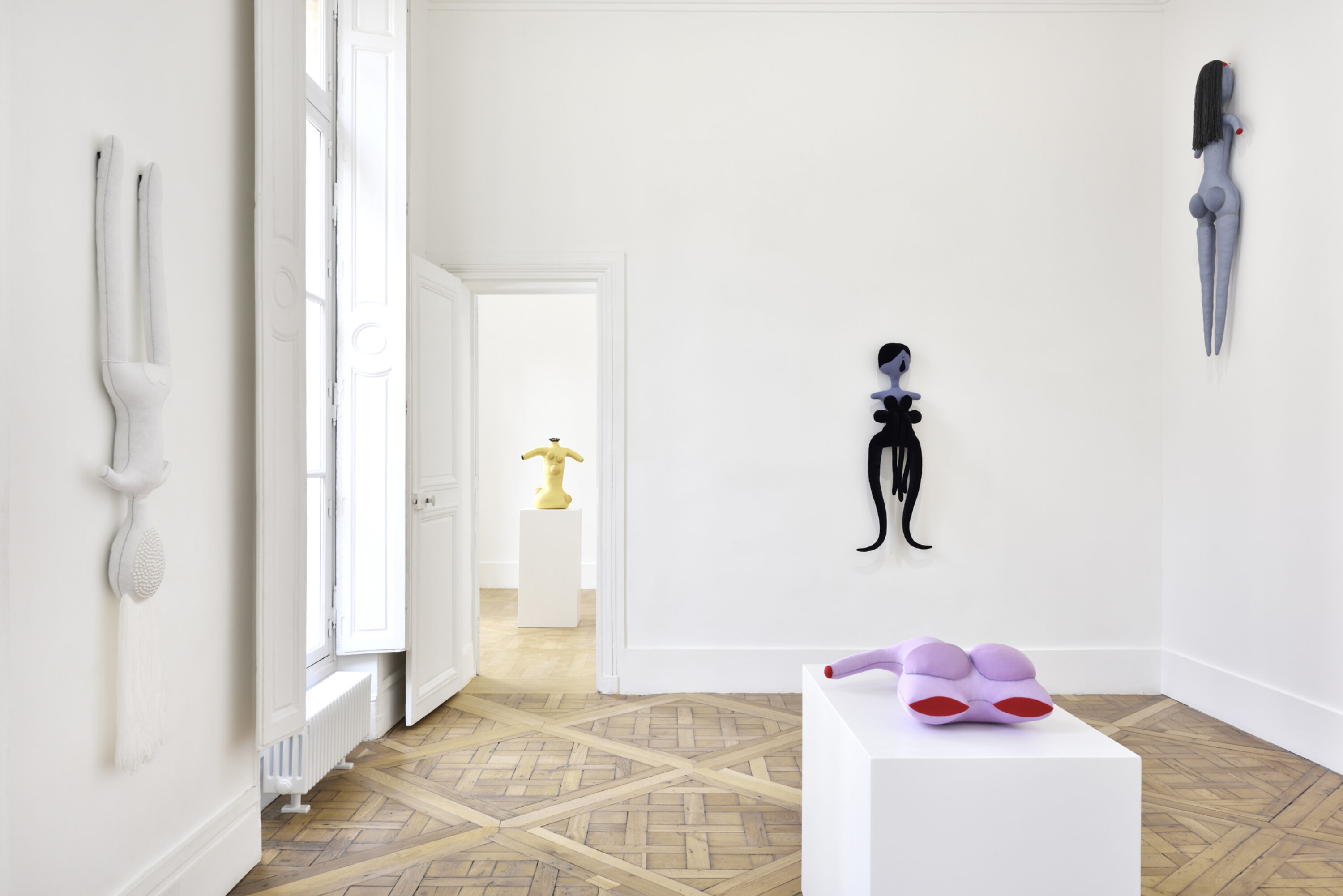 Sculpture installation by artist Penny Goring in Escape from Blood Castle at Campoli Presti Paris 2020